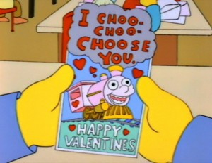 I chooooose you - Fra simpsons