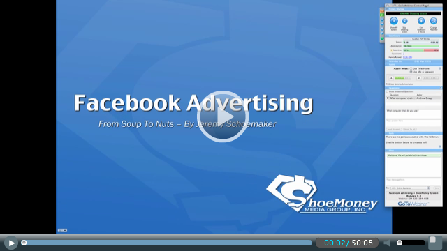 Jeremy Showmakers præsentation om Facebook ads