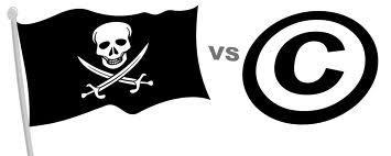 copyright vs pirates