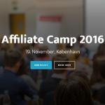 Rabatkode til Affiliate Camp 2016
