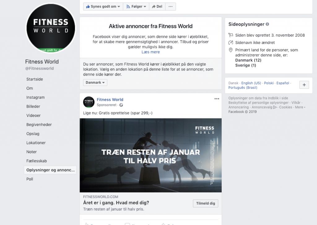 Se dine konkurrenters Facebook-annoncer