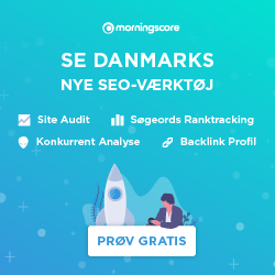 Morningscore SEO tool